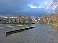 Sihlquai Zürich - Sihl-Schanzengraben - Museumstrasse 2014-03-24 17-08-51 (P7800).JPG