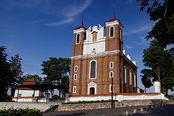 Siluvos Svc Mergeles Marijos Gimimo bazilika 2013-08-04.jpg