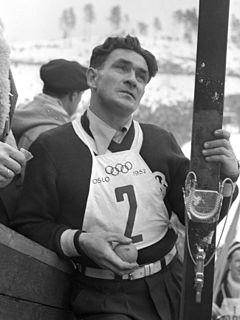 Simon Slåttvik Norwegian Nordic combined skier