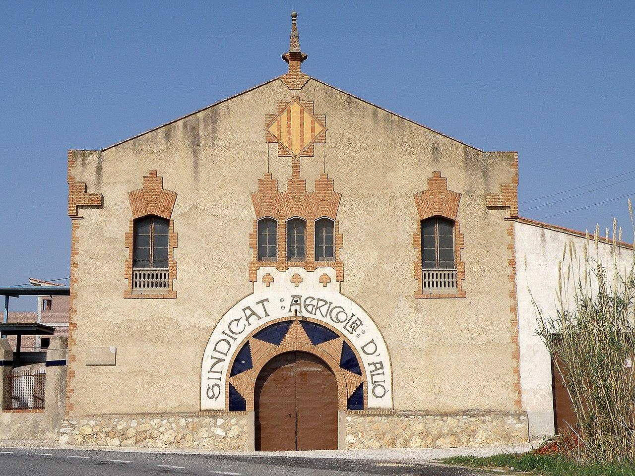 Sindicat agrícola d'Alió (Tarragona).JPG
