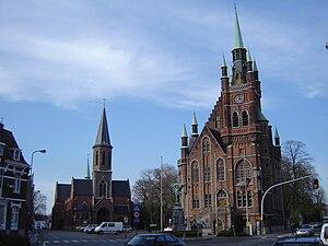Sint-Amandsberg - Centre of Sint-Amandsberg.