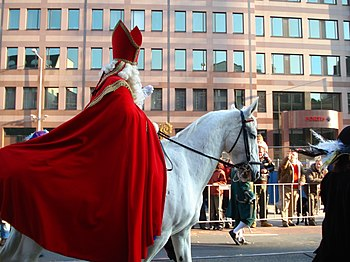 English: Sinterklaas in Amsterdam, 2007.