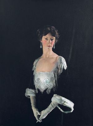 Geoffrey Taylour, 4th Marquess of Headfort - Sir William Orpen: Portrait of Rosie, Fourth Marchioness of Headfort.