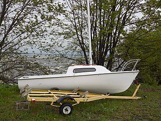 Siren 17 - Siren 17 sailboat with trailer