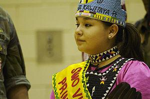 Sisseton Wahpeton Oyate - Image: Sisseton Princess 2007