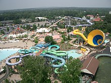 the water park at six flags new england