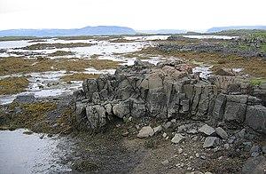 Breiðafjörður - Intertidal zone in Skáleyjar islands at Breiðafjörður, Iceland