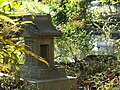 Small Shrine (祠) at Tsurigane-ike Pond (つりがね池) - panoramio.jpg