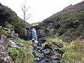 Small waterfall, Woldgill Burn - geograph.org.uk - 119619.jpg
