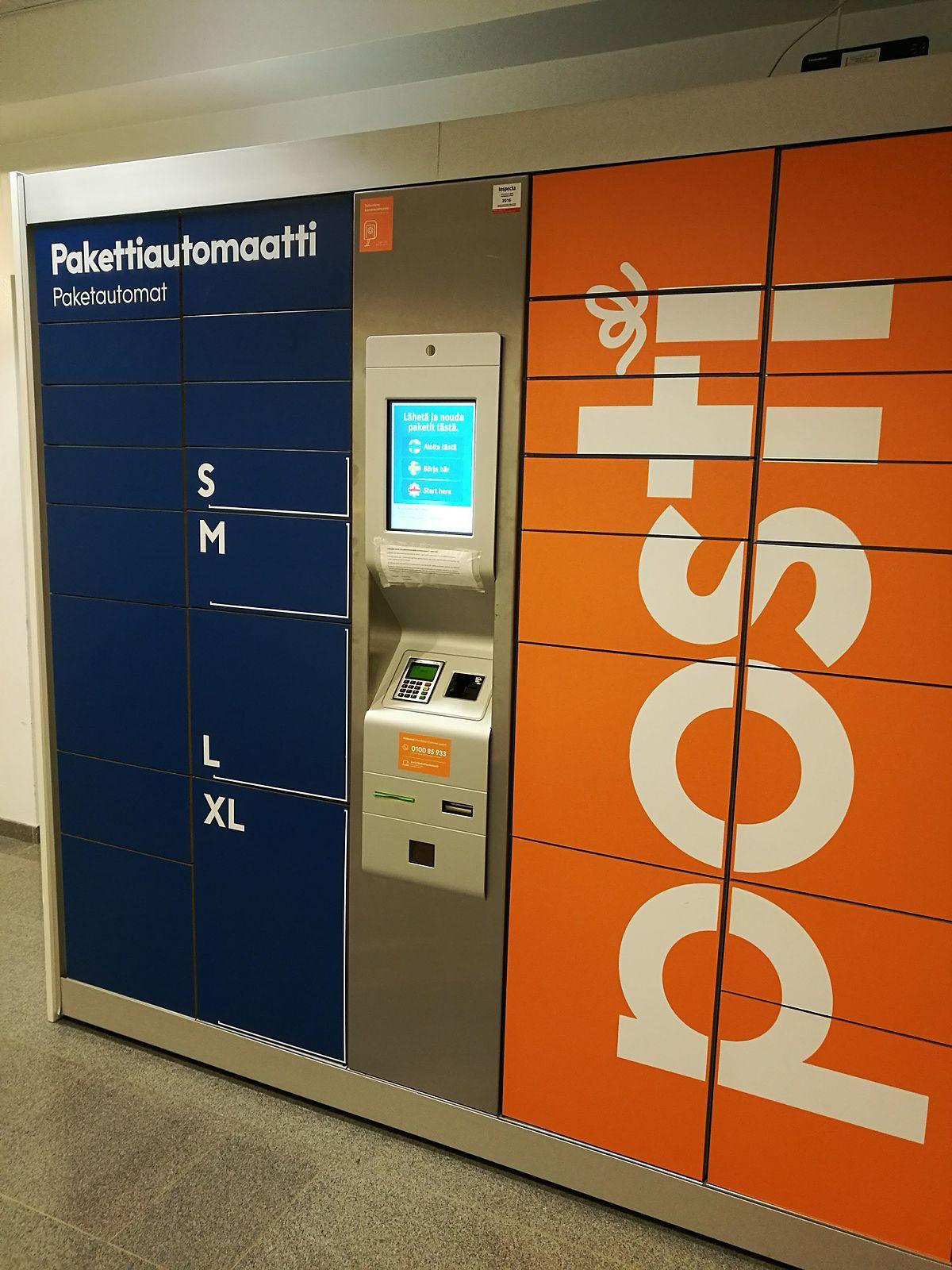 Pakettiautomaatti Ohje