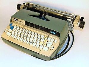 Smith Corona model 250 plus 4 Latin letters