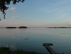 Największe jezioro w Polsce