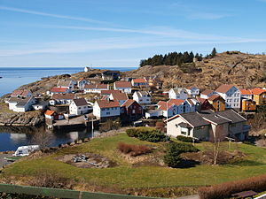 Sokndal - Village of Sogndalsstranda