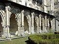 Soissons (02), abbaye Saint-Jean-des-Vignes, cloître gothique, galerie sud.jpg
