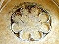 Soissons (02), abbaye Saint-Jean-des-Vignes, réfectoire, oculus factice avec peintures murales côté nord 1.jpg