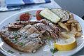Sole with prawns in Limnionas, Kos, Greece (5653638739).jpg