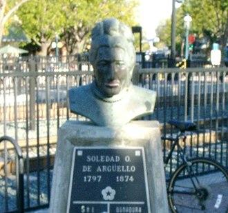 María Soledad Ortega de Argüello - Bust of Soledad taken in 2004