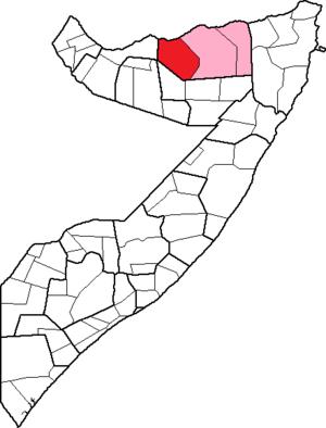 El Afweyn District - Image: Somalia, Sanaag region, El Afweyn District