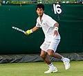 Somdev Devvarman 7, 2015 Wimbledon Qualifying - Diliff.jpg