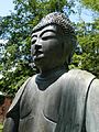 Sonnenberg Gardens and Mansions State Historic Park Buddha Detail.JPG