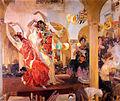 Sorolla Bailaoras en el Cafe Novedades de Sevilla (1914).jpg
