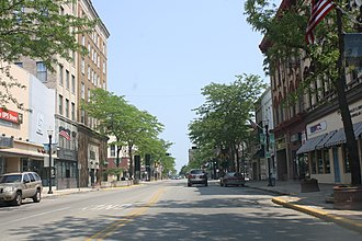 Fond du Lac, Wisconsin - Image: South Main Street Historic District Fond Du Lac Wis US45