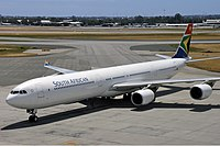 ZS-SNH - A346 - South African Airways