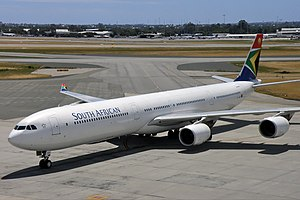 South African Airways Airbus A340-600 PER Koch-1.jpg