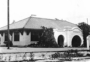 Owensmouth - Southern Pacific Railroad Owensmout Depot 1915