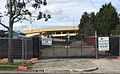 Southland Railway Station rear entrance construction, September 2016.jpg