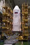 Soyuz TMA-08M spacecraft integration facility 7.jpg