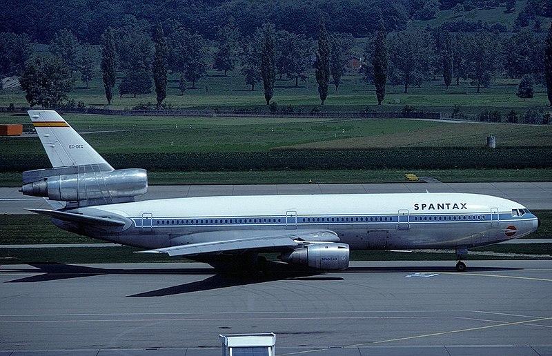 Spantax Airlines 995편 오버런