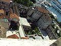 Split - vnitroblok Dioklecianova palace, primorska strana.jpg