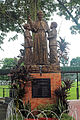 St. Anthony Mary Claret statue at the Claret School in Quezon City.jpg