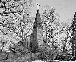 St. Matthews Bischofskirche, St. Mary's Road, Hillsborough (Orange County, North Carolina) .jpg