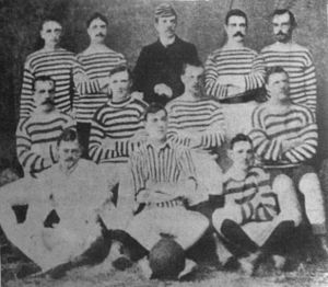 St. Andrew's Scots School - The team that won the first Argentine Primera División title in 1891.