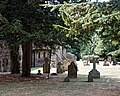 St Alban the Martyr's Church, Coopersale churchyard at northwest.jpg