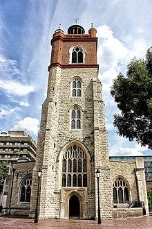Церковь Святого Джайлса без Крипплегата Барбакан Лондон.jpg