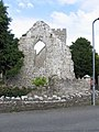 St Illtud, Llantwit Major, Glamorgan, Wales - ruin at west end - geograph.org.uk - 544770.jpg
