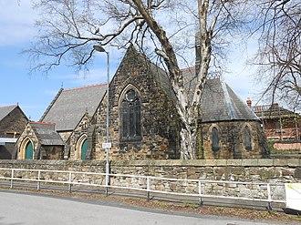 Rhosddu - Image: St James' church, Rhosddu (2)