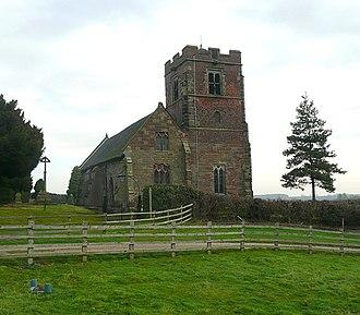 Wychnor - Image: St Leonard's Church Wychnor Staffordshire