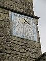 St Mary's Church, Long Wittenham, Oxfordshire - tower sundial 03.jpg