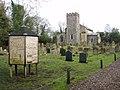 St Michaels church, Great Moulton, Norfolk (geograph 1695621).jpg