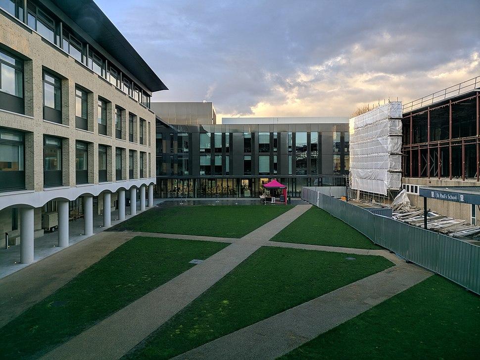 St Paul's School courtyard