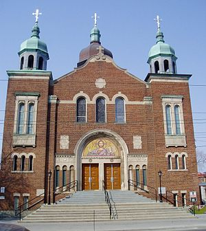 Ukrainian Canadians - St. Volodymyr's Ukrainian Orthodox Cathedral, Toronto.
