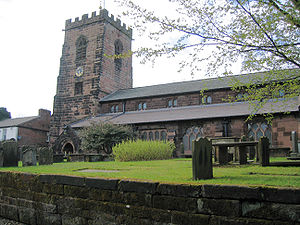 Grappenhall and Thelwall - Image: St Wilfrid's, Grappenhall