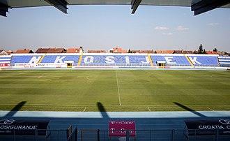Stadion Gradski vrt - Image: Stadion NK Osijek 2 rujna 2008