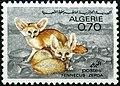 Stamp of Algeria - 1967 - Colnect 325119 - Fennek Fennecus zerda.jpeg