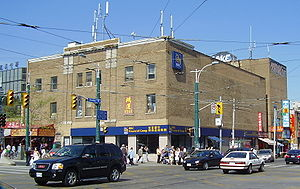 Standard Theatre (Toronto) - The former Standard Theatre