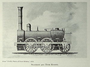 Stanhope and Tyne Railway - One of the Stanhope and Tyne's locomotives